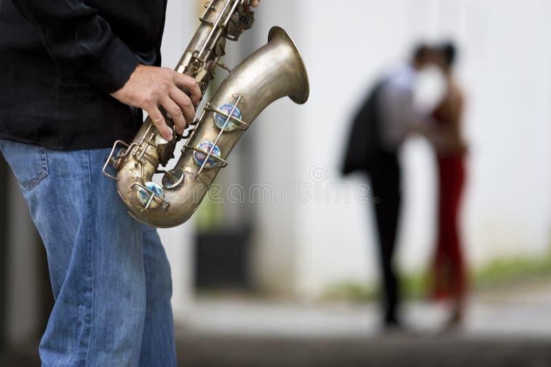 Jazz romántico imagen de archivo