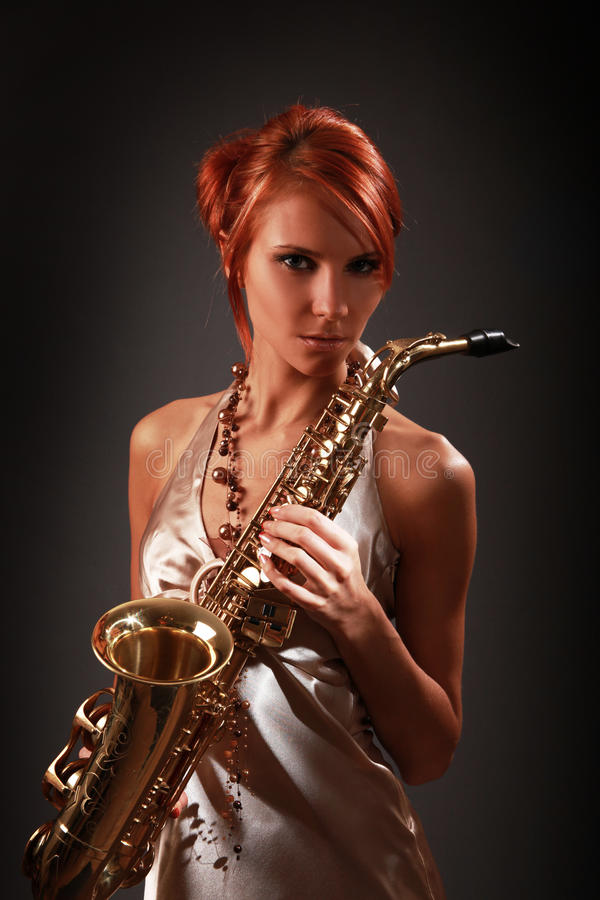 Jazz sensuale immagini stock
