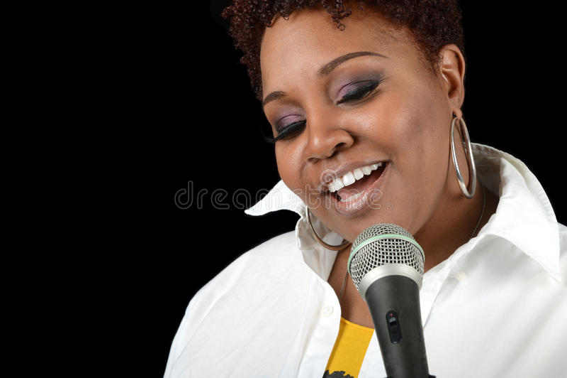 Jazz Singer immagini stock