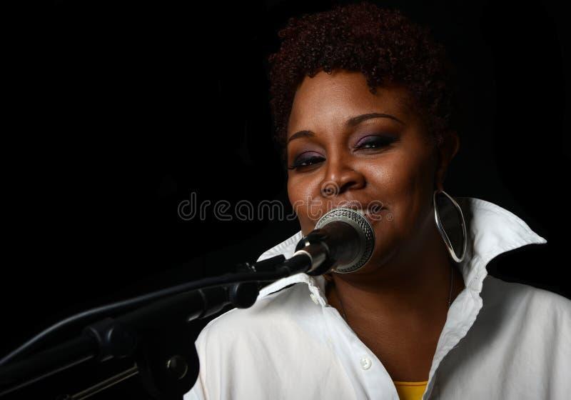 Jazz Singer fotografie stock