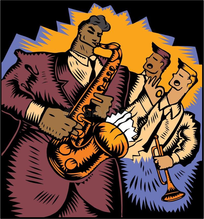 Jazz Trio ilustración del vector