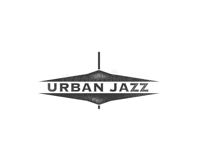 Jazz urbano Concepto del arte libre illustration