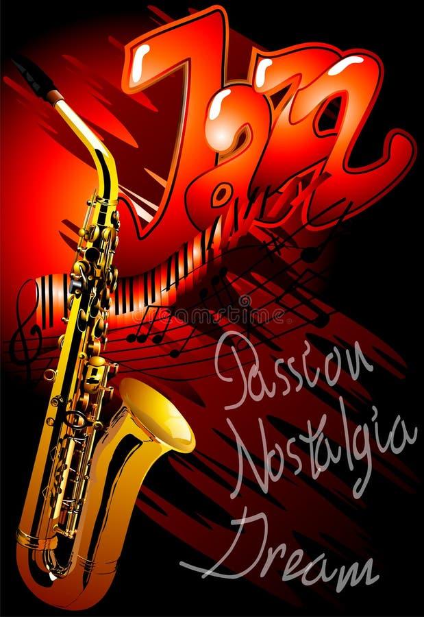Jazz (wektor)  royalty ilustracja