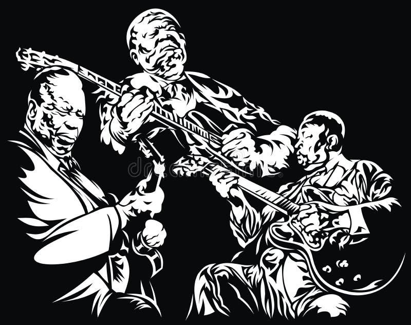 jazzes royalty ilustracja