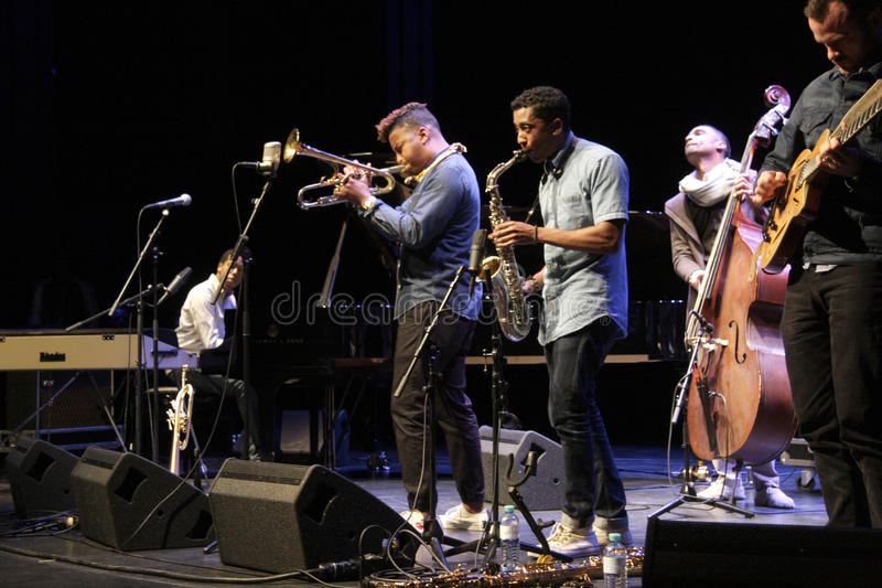 Jazzfest стоковые фото