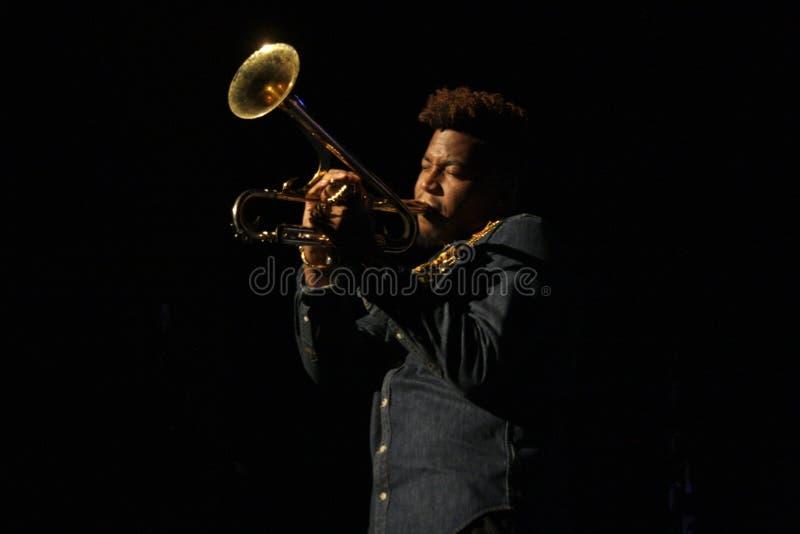 Jazzfest стоковое фото