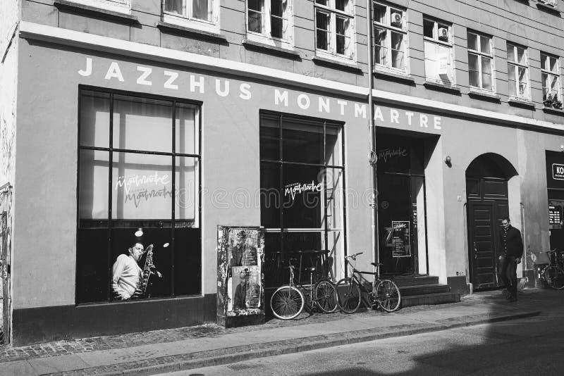 Jazzhuss Montmartre, Κοπεγχάγη στοκ φωτογραφία με δικαίωμα ελεύθερης χρήσης