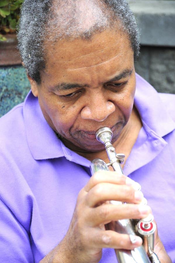 Jazz Musician fotografia stock