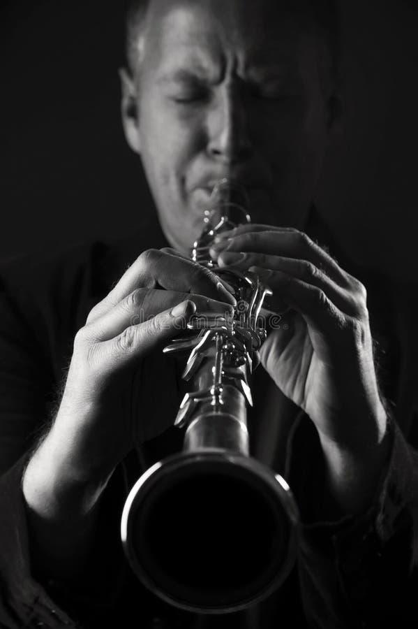 Jazzman fotografia de stock royalty free