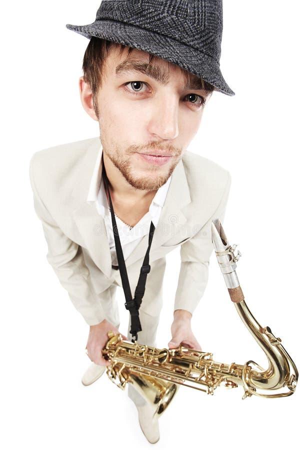 jazzmusik royaltyfri foto