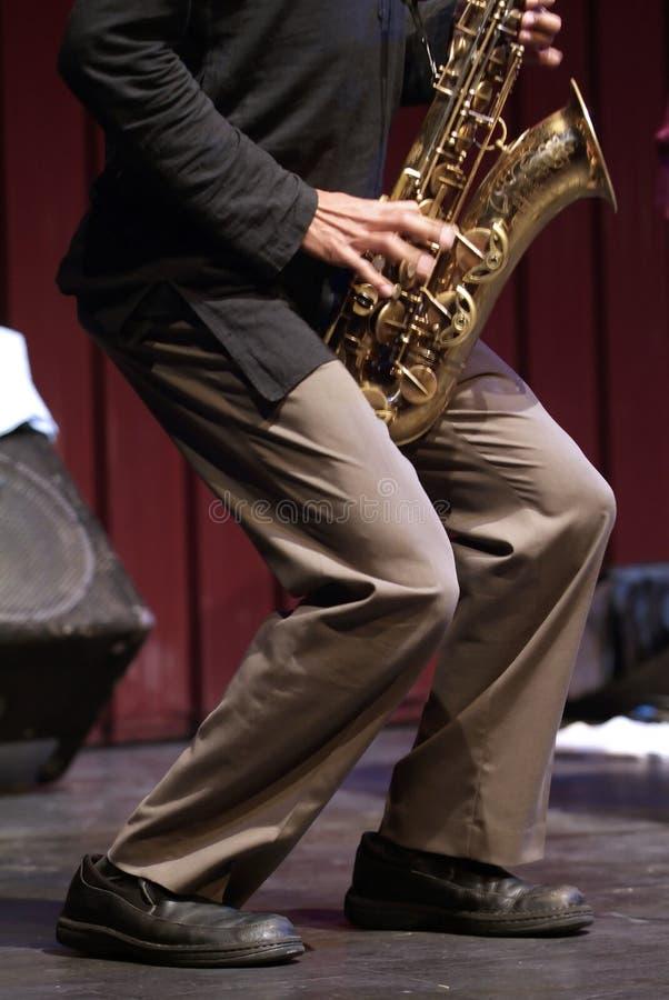 jazzmusik arkivfoto