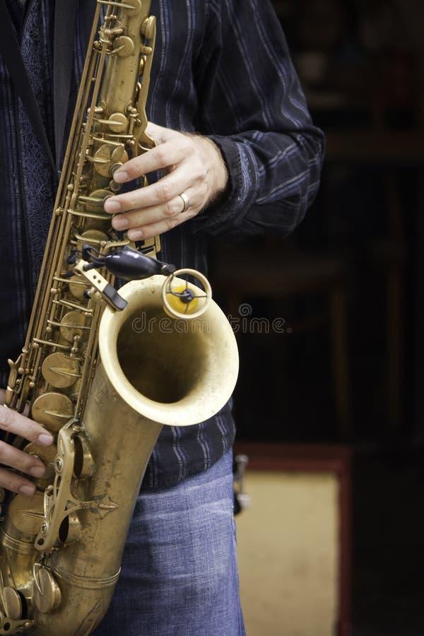 Jazzmusiker stockfoto