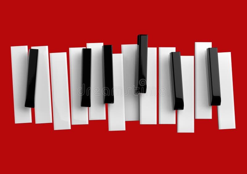 Jazzmusikfestival, Plakathintergrundschablone stock abbildung