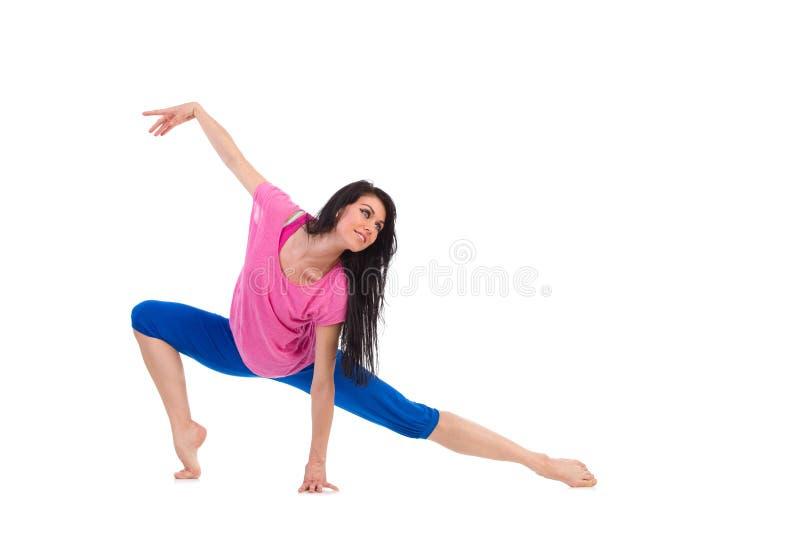 Jazzowy tancerz zdjęcia stock