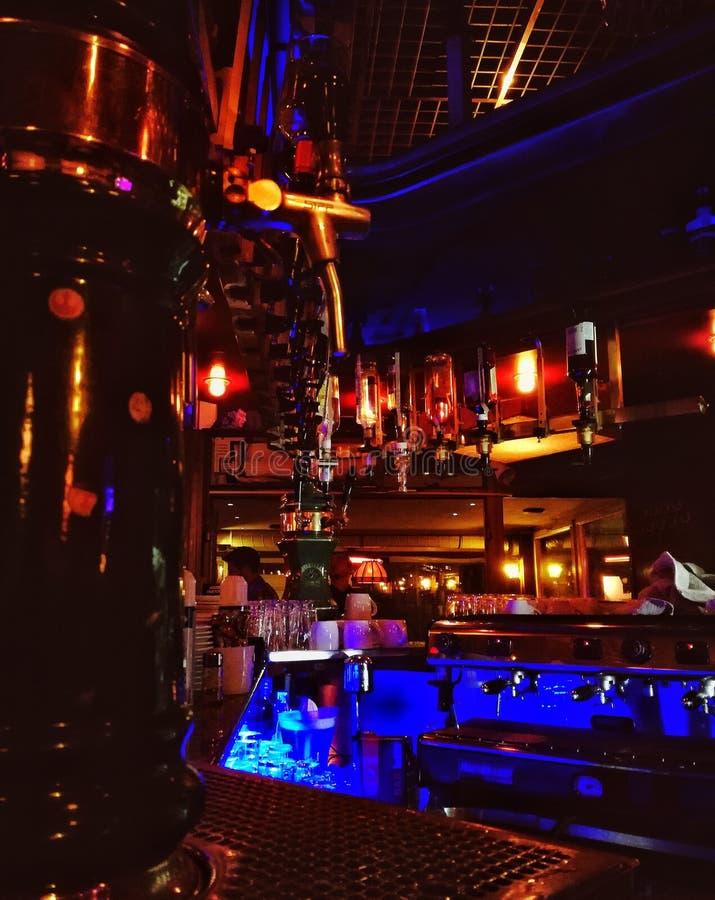 Jazzva bar fotografia royalty free