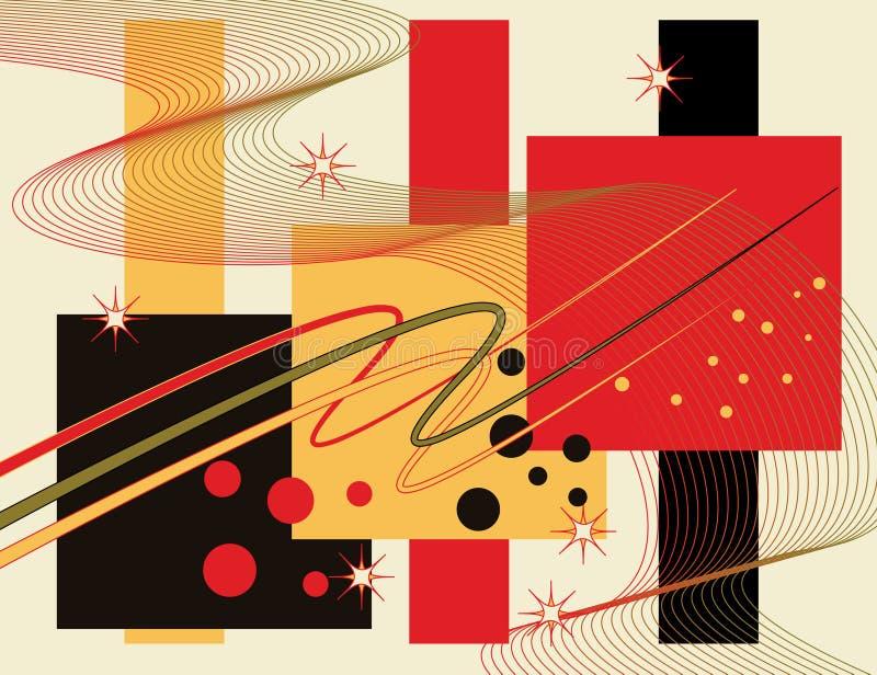 jazzy stock illustrationer