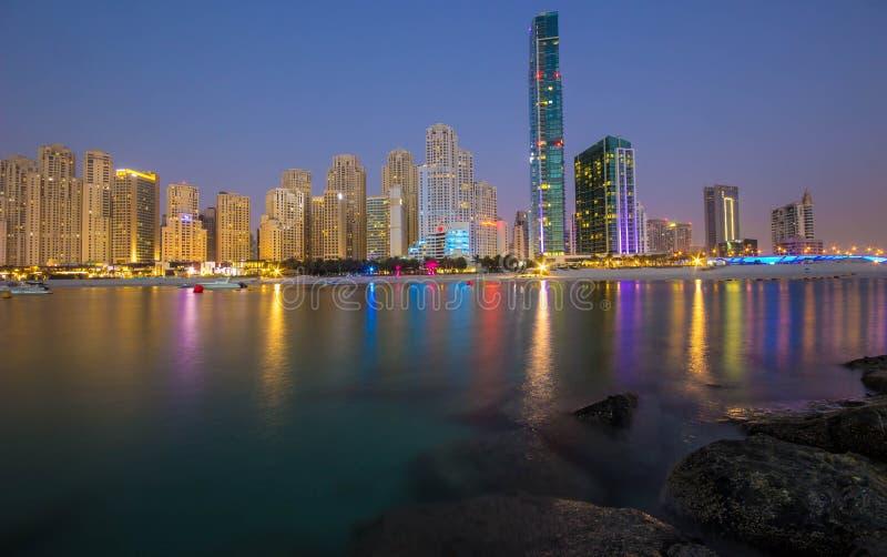 JBR Ντουμπάι στοκ εικόνες