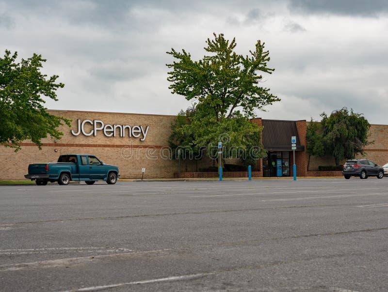 JC Penney sklep w Winchester VA fotografia stock