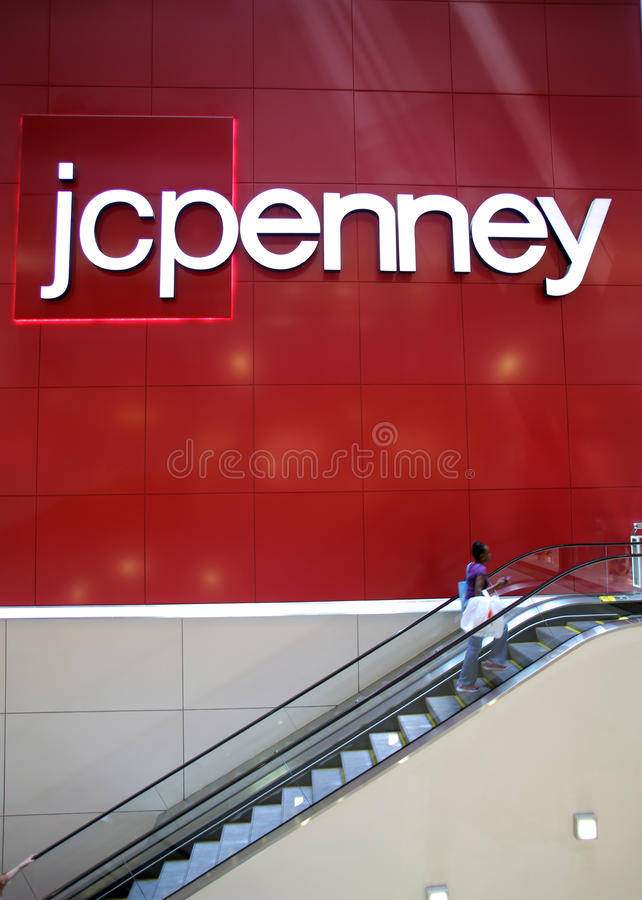 JC PENNY DEPARTMENT STORE royalty free stock photography