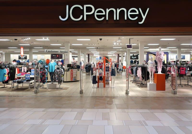 JCPenney imagem de stock royalty free