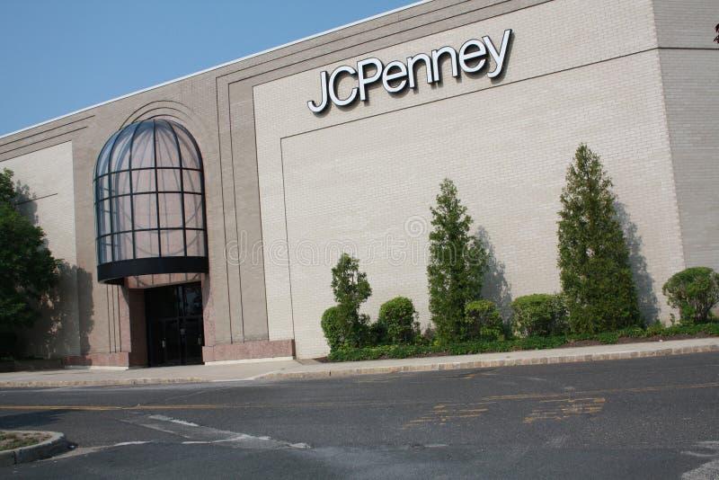 JCPenny-Haustür stockbilder