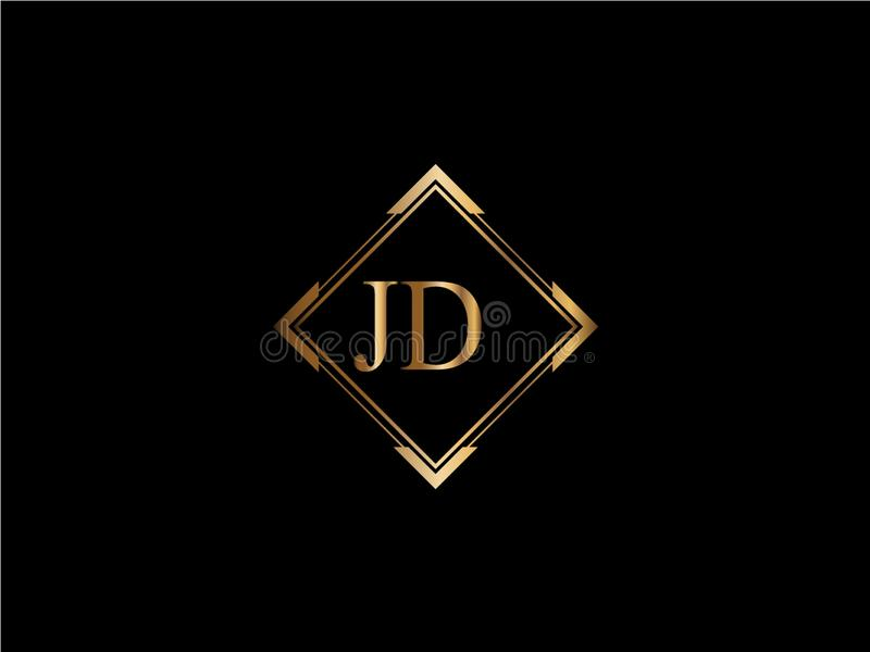jd initial diamond shape gold color later logo designx stock vector illustration of design ldinitial 139451869 jd initial diamond shape gold color