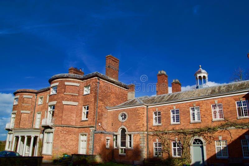 Jeżdżony Hall w Cheshire obrazy royalty free