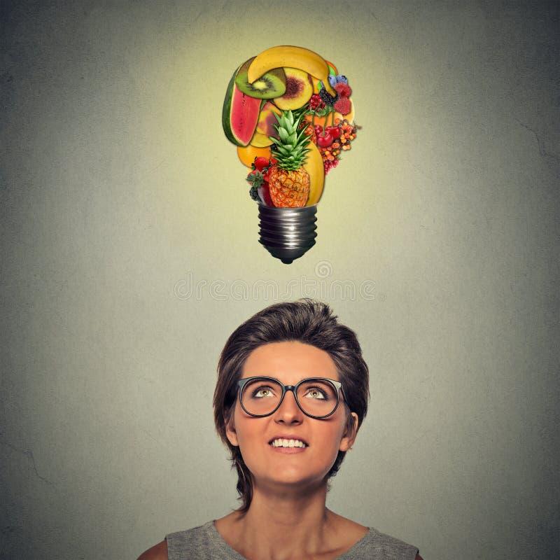 Jeść zdrowego pomysł i diet porad pojęcie zdjęcie royalty free