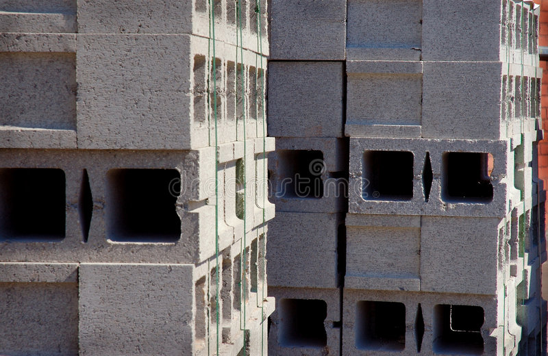 jeśli bloku betonu zdjęcie stock