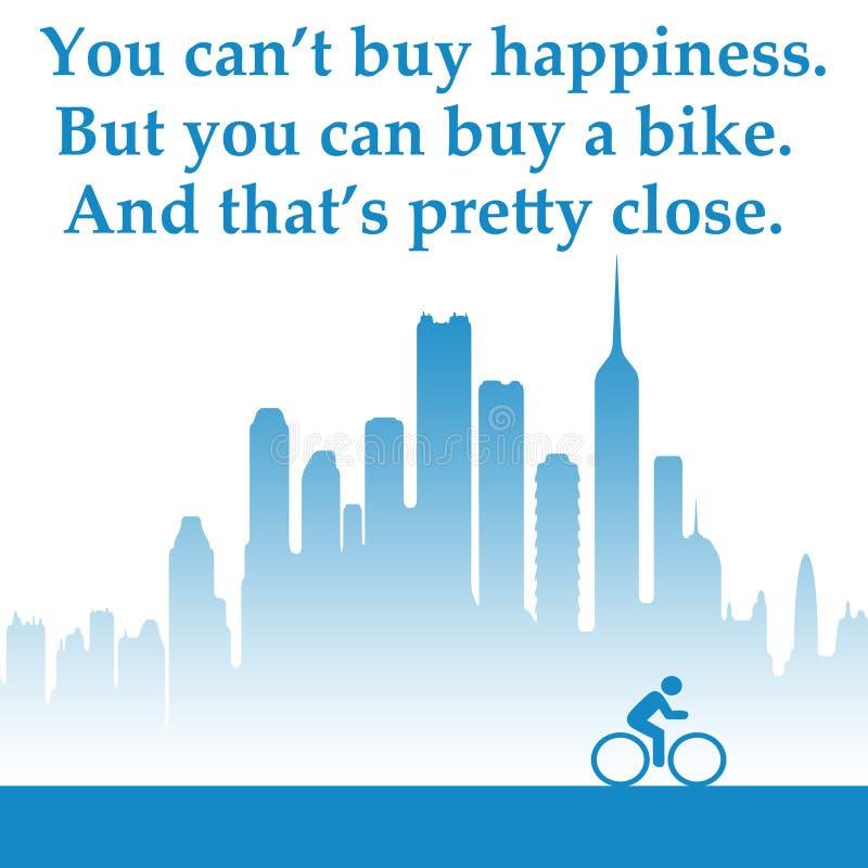 Jeździć na rowerze ilustracja wektor
