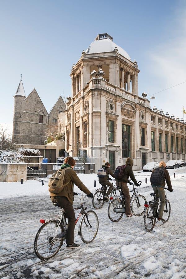 Jeździć na rowerze w Belgia zdjęcie royalty free