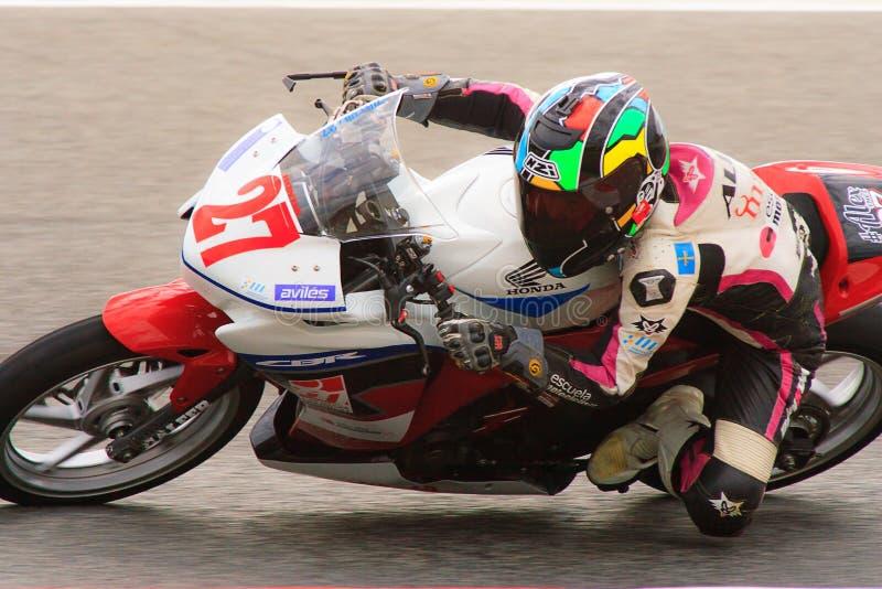 Jeździec Alejandro Diez Bezpartyjnik drużyna obrazy stock