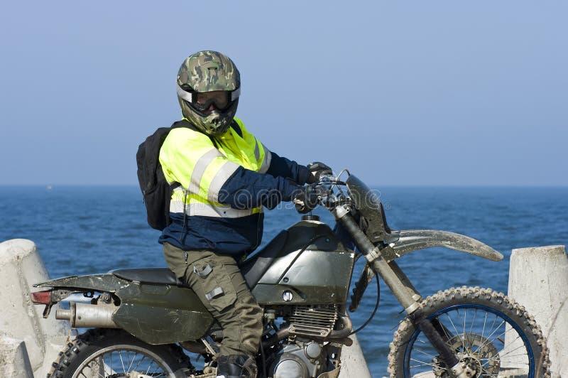 jeździec motocross zdjęcia stock