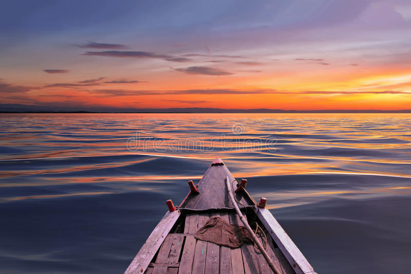 Jeździecka łódź obrazy royalty free