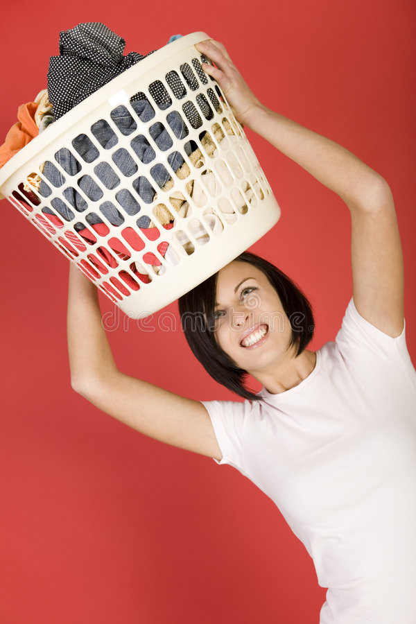 Je déteste des launderings photo stock