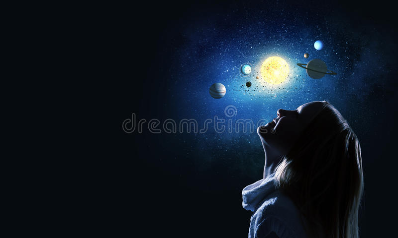 Download Je serai astronaute image stock. Image du espace, lumineux - 56481165