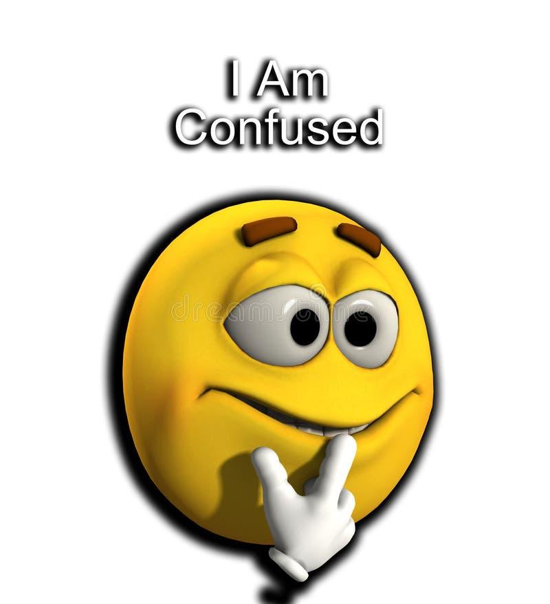 Je Suis Confus Illustration Stock Illustration Du Concept 4515840