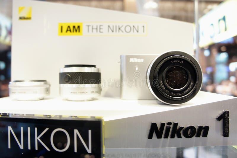 JE SUIS Nikon 1 image stock