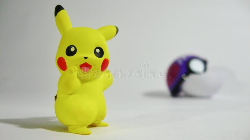 je suis Pikachu ! image libre de droits