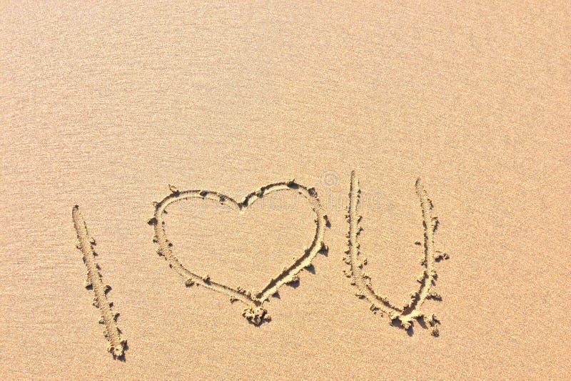 Je t'aime, déclaration de l'amour images stock