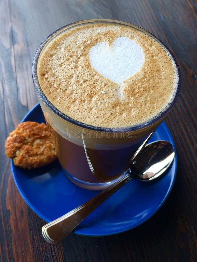 Je t'aime un latte photos libres de droits
