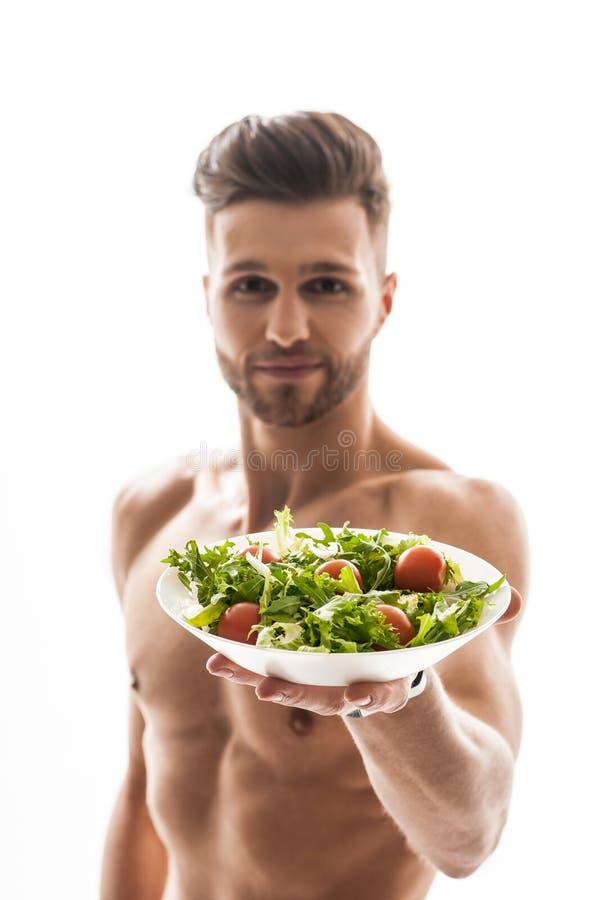 Je ten cudownego zdrowego jedzenie obrazy royalty free