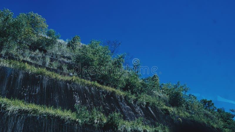 Je veux partager ceci combien beau le ciel bleu image libre de droits