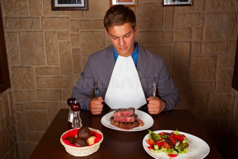 Je wołowina stek obrazy royalty free