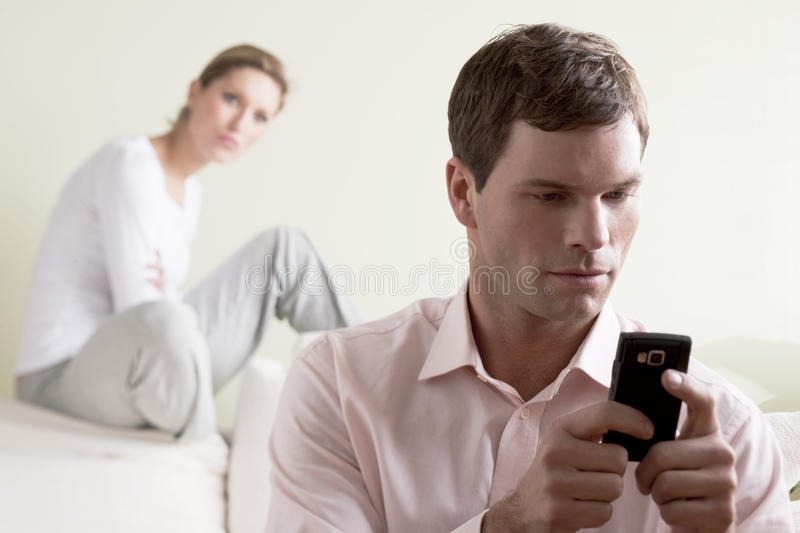Download Jealousy stock image. Image of adult, sadness, mobile - 13830607