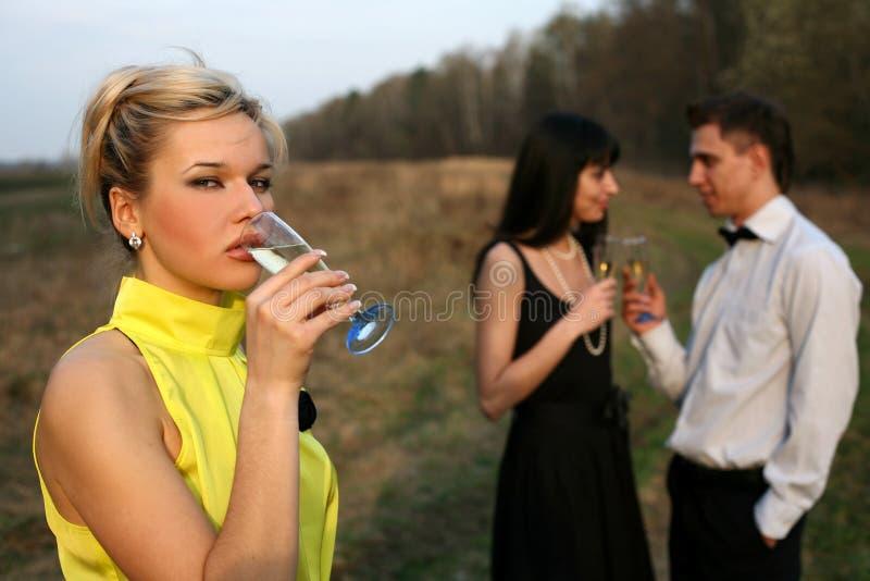 jealousy στοκ εικόνα