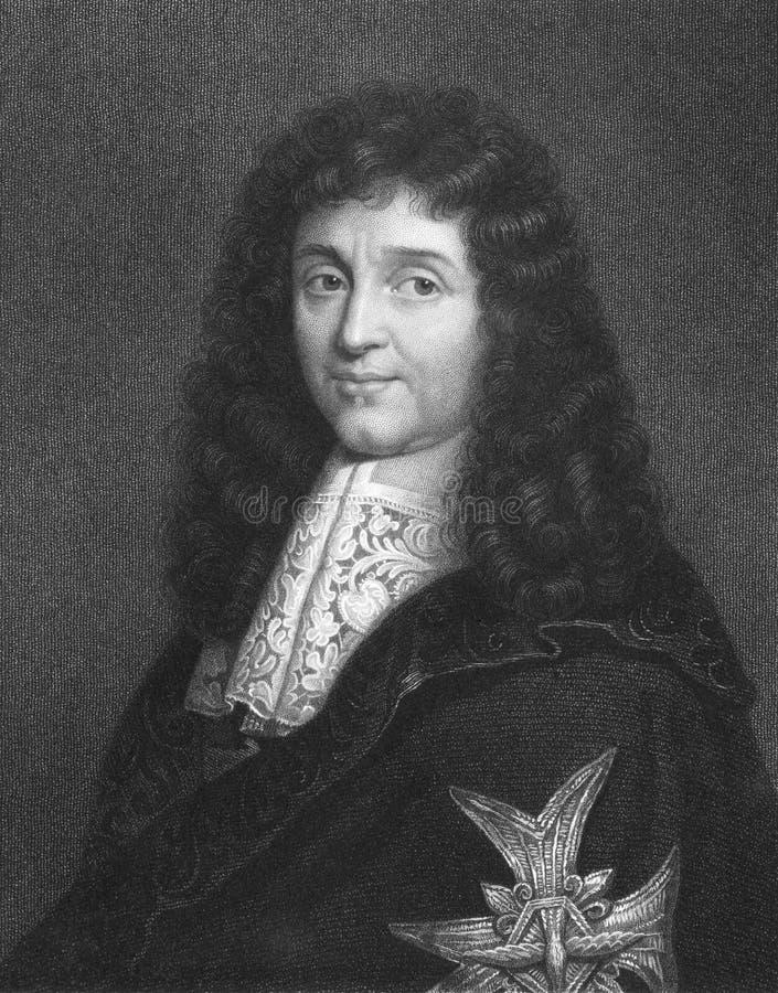 Jean-Baptiste Colbert royalty free stock photo