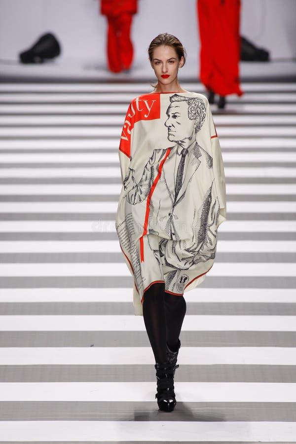 Jean-Charles de Castelbajac Paris Fashion Week royalty free stock image