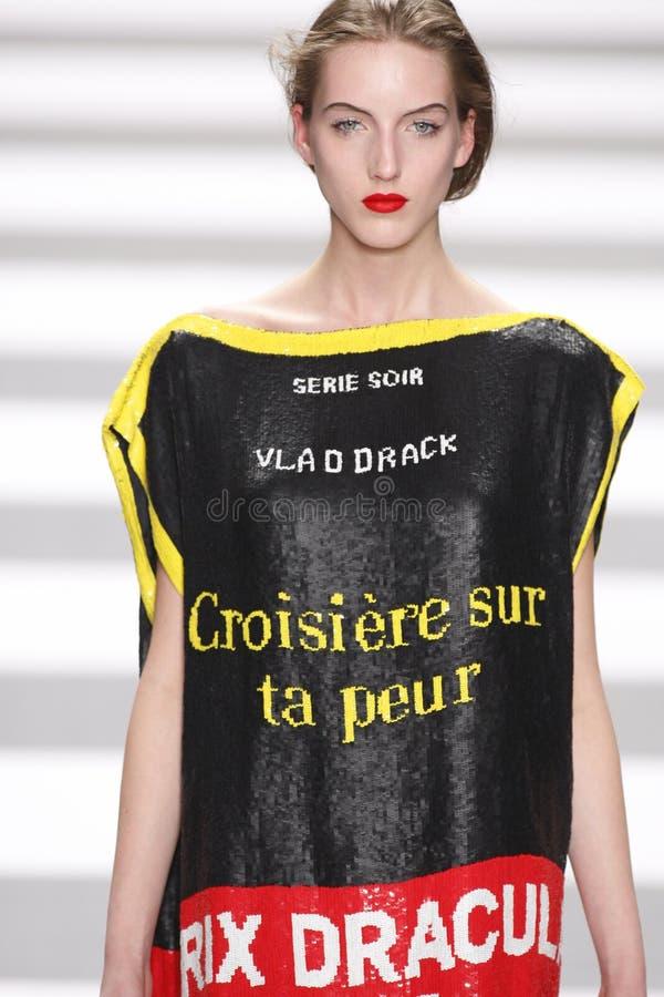 Jean-Charles de Castelbajac Paris Fashion Week royalty-vrije stock fotografie