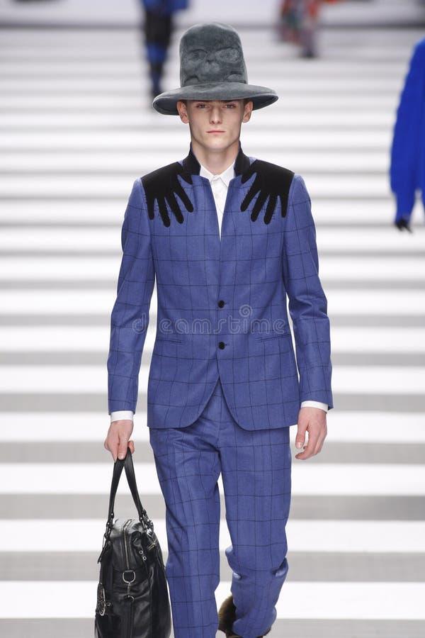Jean-Charles de Castelbajac Paris Fashion Week royaltyfria foton